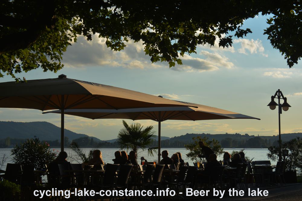 Cycling along Lake Constance - Beer by the lake (Constance)