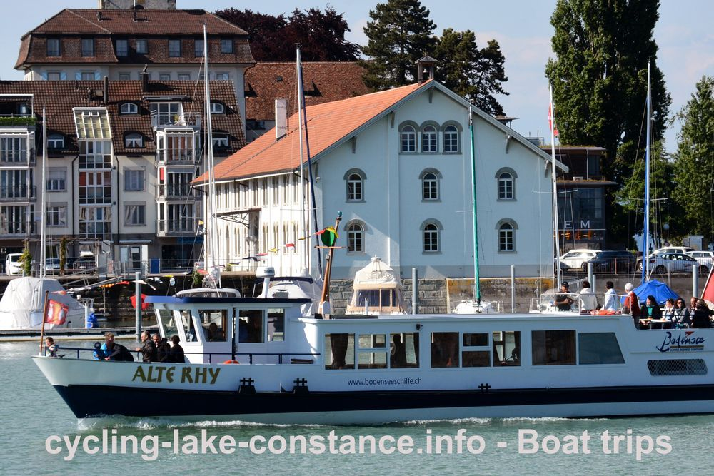 Boat trips on Lake Constance - MS Alte Rhy