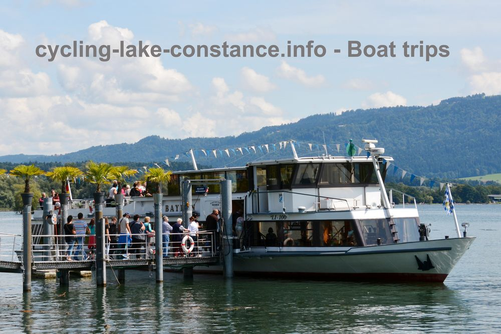 Boat trips on Lake Constance - MS Bayern