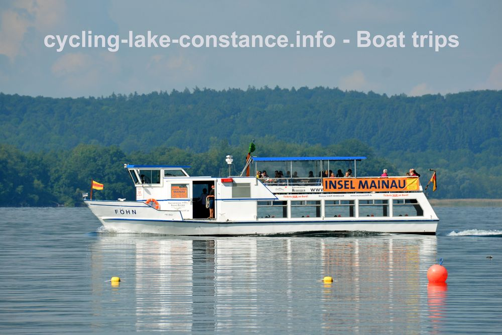 Boat trips on Lake Constance - MS Föhn