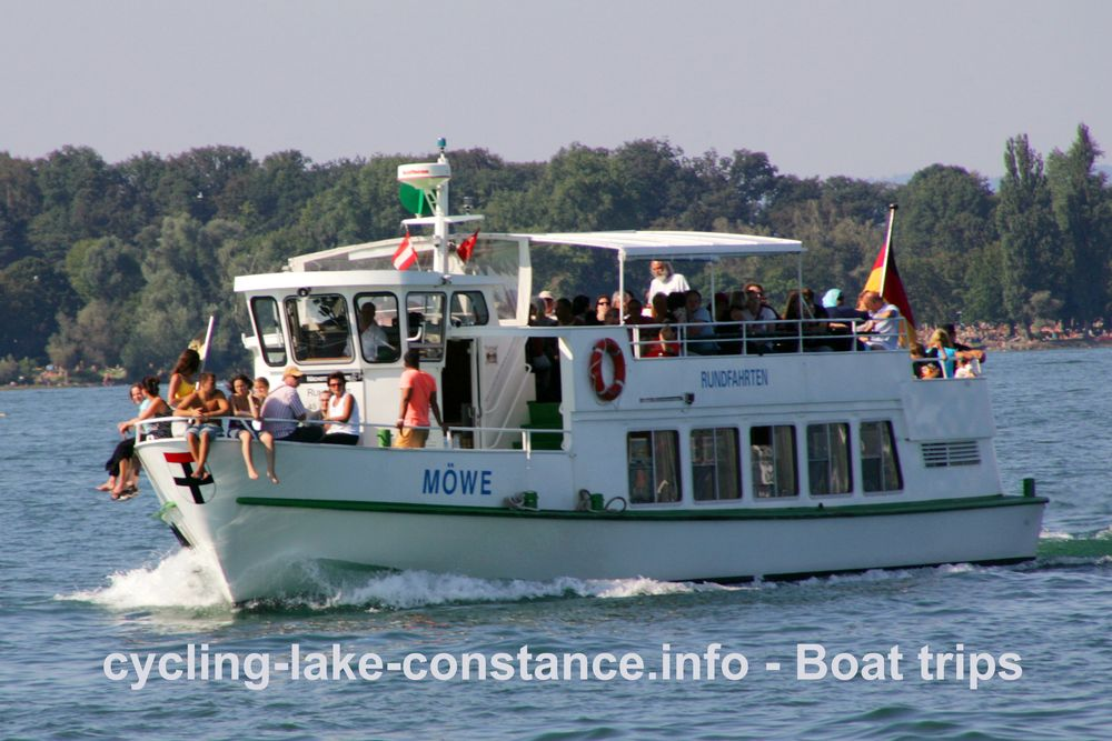 Boat trip on Lake Constance - MS Möwe