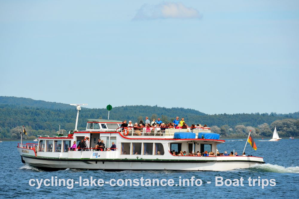 Boat trips on Lake Constance - MS Reichenau