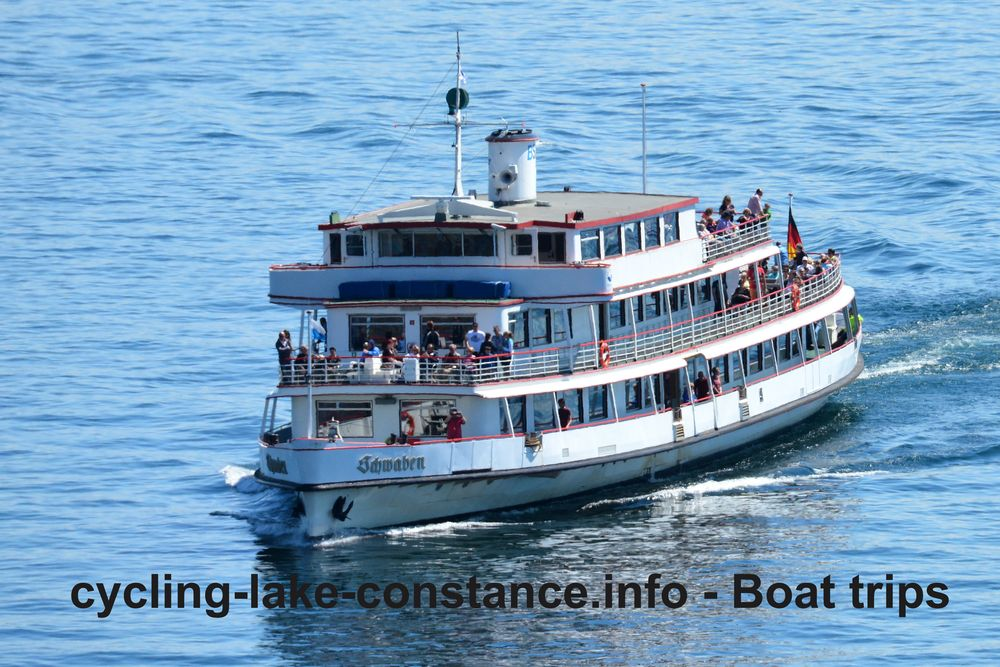 Boat trips on Lake Constance - MS Schwaben