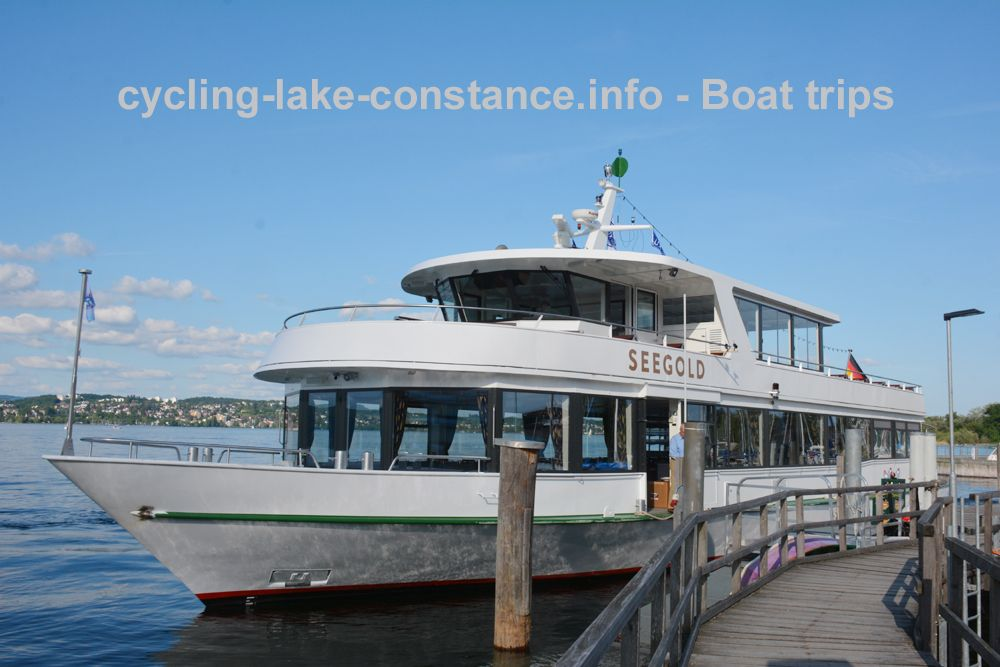 Boat trips on Lake Constance - MS Seegold
