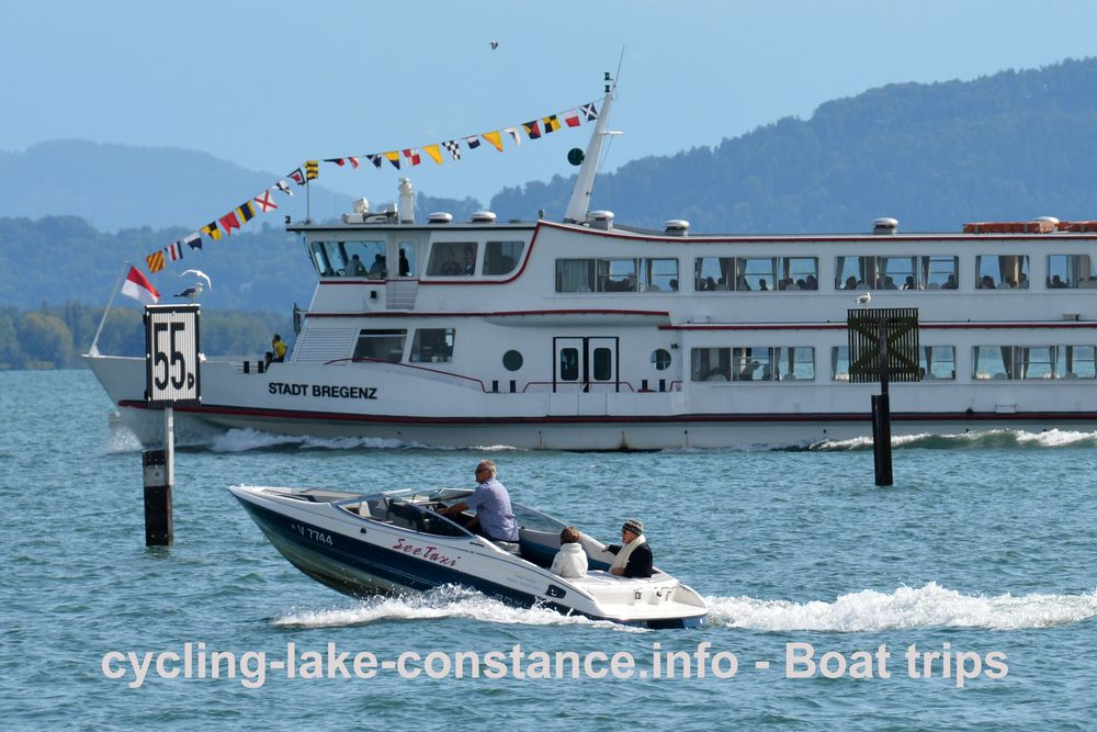 Boat trips on Lake Constance - MS Stadt Bregenz