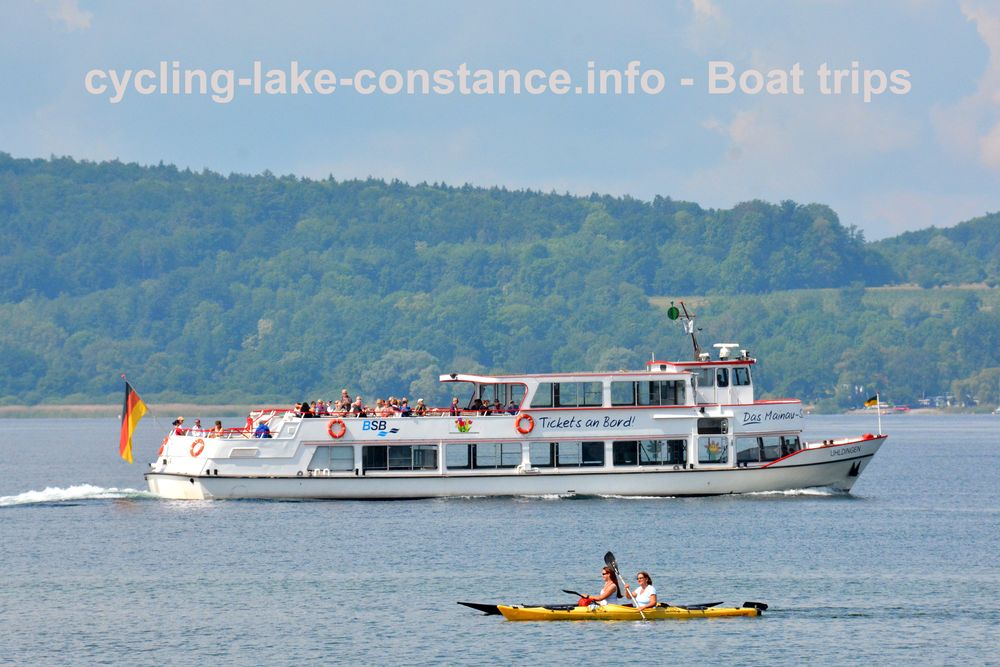 Boat trips on Lake Constance - MS Uhldingen