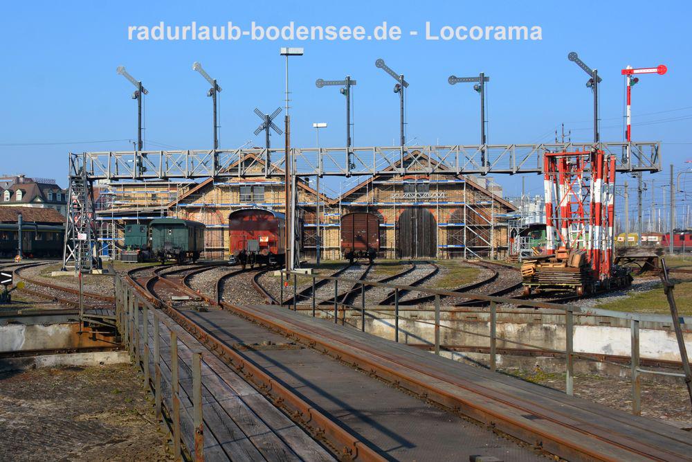 Museumsbahnen am Bodensee - Locorama Romanshorn