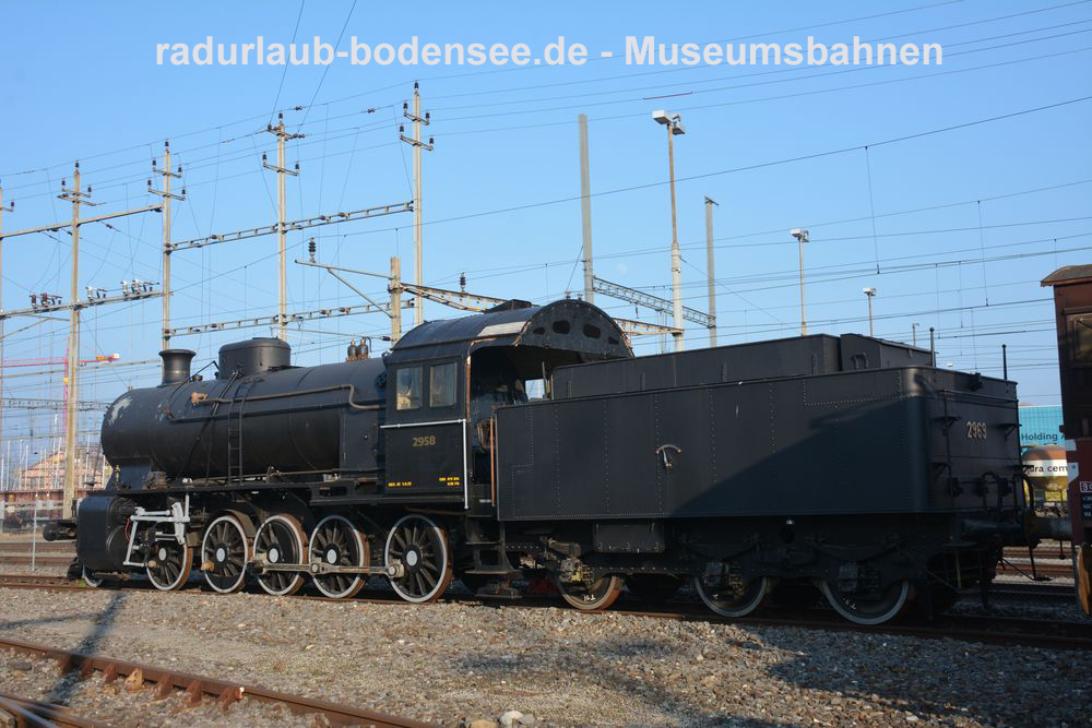 Museumsbahnen am Bodensee - Locorama - Lok 2958 SBB