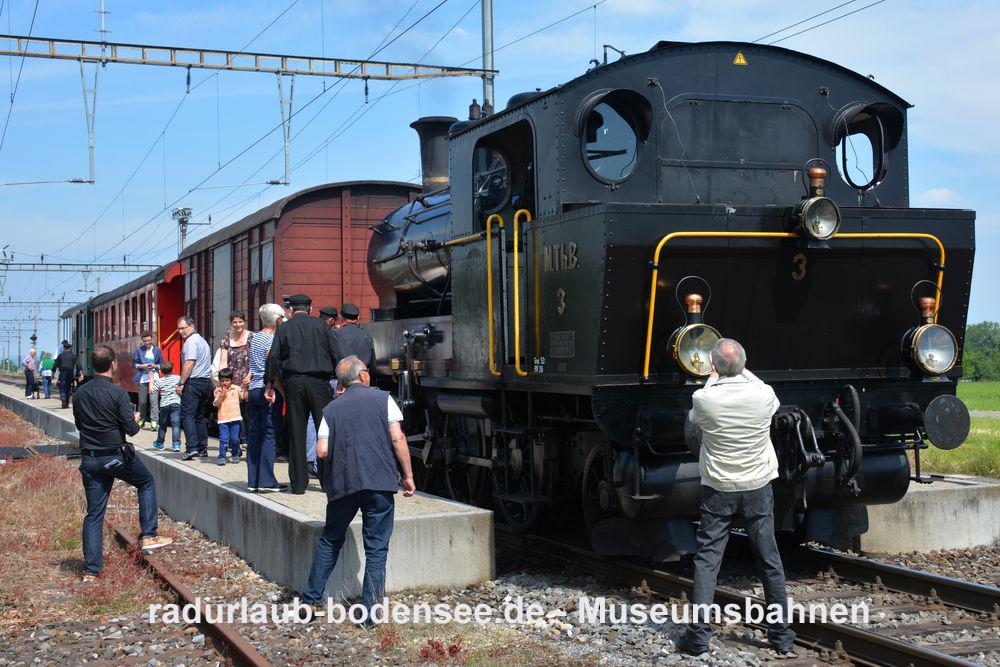 Museumsbahnen am Bodensee - Mostindien-Express