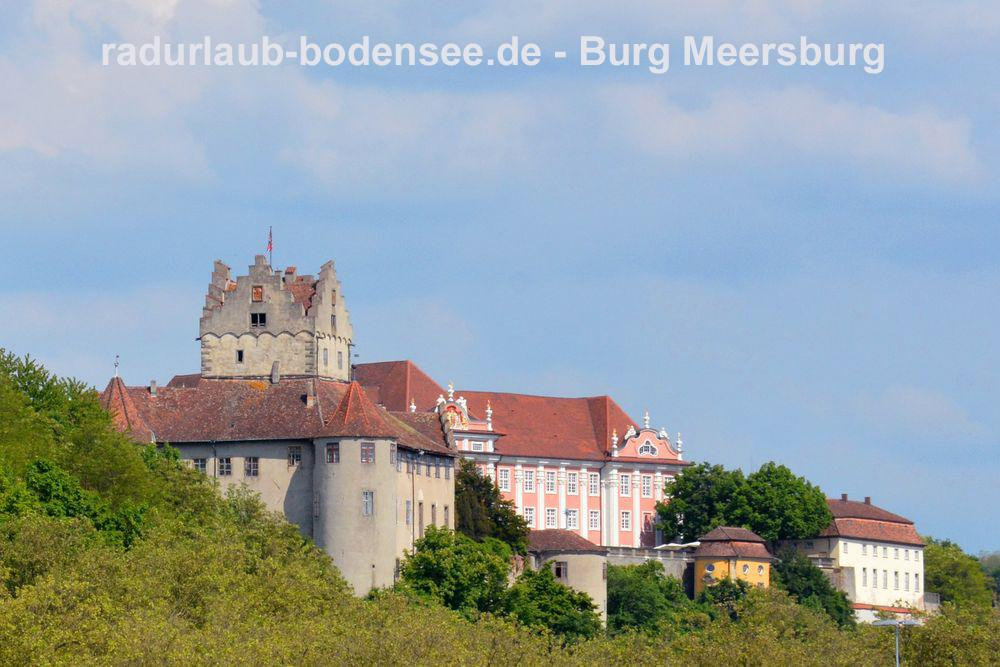 Cycling Lake Constance - Meersburg Castle