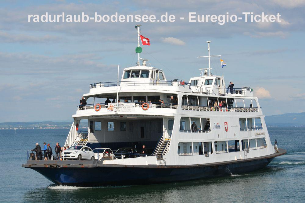 Cycling Lake Constance - The Euregio day ticket