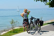 Cycling along Lake Constance