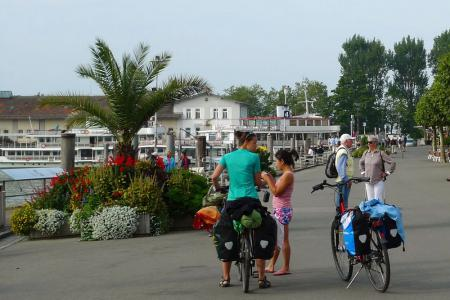 Cycling holiday on Lake Constance - Lindau