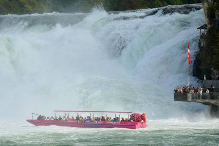 Sporty tour Lake Constance & Rhine waterfall